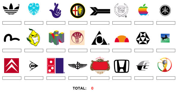 awesome logo quiz see how you score shaolintiger kung fu geekery