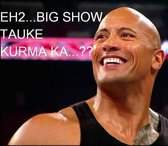 Big Show Makan Kurma