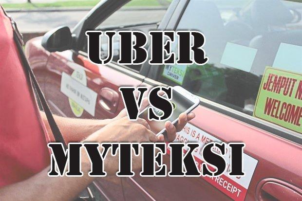 Uber vs MyTeksi in Malaysia