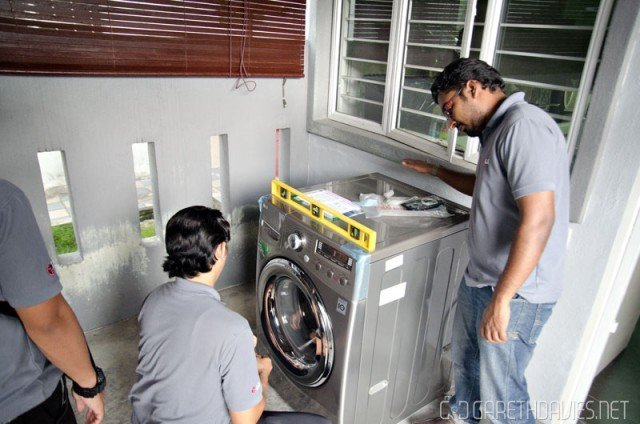 LG Washing Machine Installation