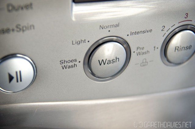 LG Shoe Wash Mode