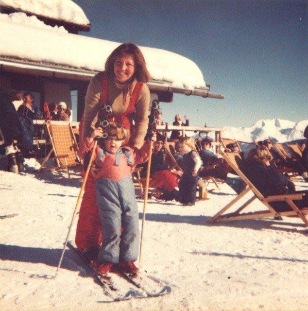 1981 Skiing Zell Am Zelle