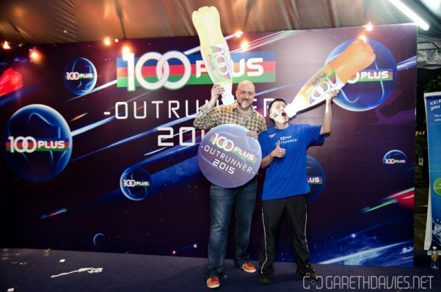 100PLUS Outrunner with Huai Bin
