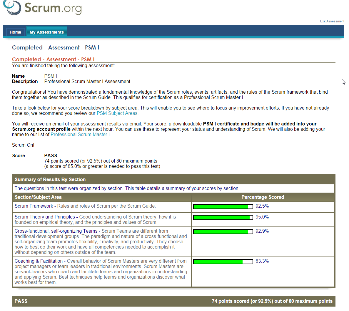 Learnings From Scrum Scrum Master Certification In Malaysia Psm