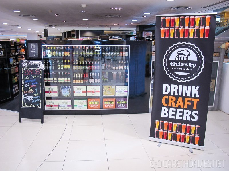 Singapore craft beer thirsty craft beer shop liang for Craft beer online shop