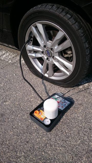 Volvo V60 Puncture Repair Kit