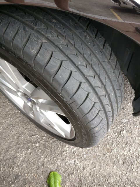 Goodyear Eagle EfficientGrip Tread