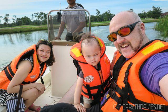 Amverton Cove Boat Ride
