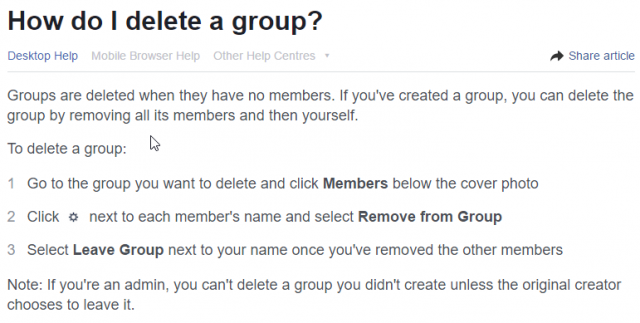 JavaScript To Mass Remove Facebook Group Members