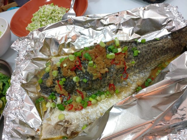 Paleo Steamed Fish
