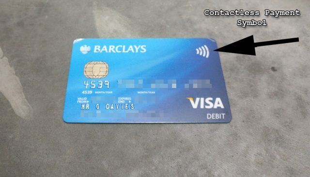 UK Barclays Debit Visa