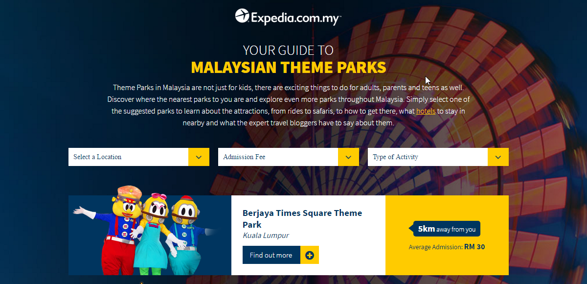 Malaysian Theme Parks - An Interactive Guide