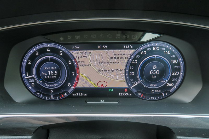Volkswagen Tiguan AID - Active Info Display
