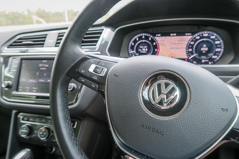 VW Tiguan Steering Wheel